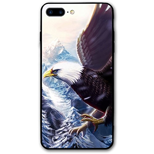 (Janeither Painting Poultry Eagle Beak Wings IPhone 8 Plus Case Protective Shell Use Environmental PC Materials Protection Cover Case For 5.5 Inch IPhone 8)