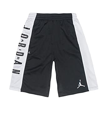 Jordan 'Highlight' Basketball Shorts (Big Boys) (Small, Black/White