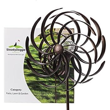 Amazon.com : Stanwood Wind Sculpture Kinetic Copper Wind