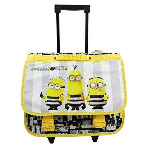 Minions Jail 3 Mochila CarteraTrolley por Ninos, Porta PC