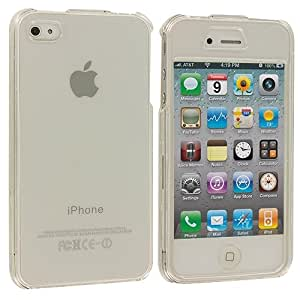 Clear Crystal Transparent Crystal Hard Skin Case Cover for Apple iPhone 4 4G 4S