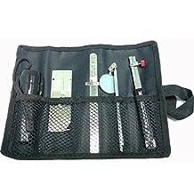B.W.P Welding Gauge Set Cloth Bag V-WAC Gauge Single Purpose HI-LO Welding Gage Torch Light Rearview Mirrior