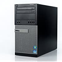 2017 Dell Optiplex 9010 Tower Premium Desktop Computer, Intel Quad-Core i5-3550 up to 3.7GHz, 8GB DDR3 Memory, 2TB HDD+120GB SSD, DVD, WiFi, Windows 10 Professional (Certified Refurbished)