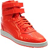 PUMA Men's Sky II Hi Patent Emboss Fashion Sneaker, Red Blast, 10 M US