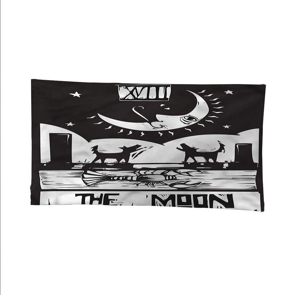 Moontapestrywall tapestryLobster Wolves Moon Tarot 93W x 70L Inch