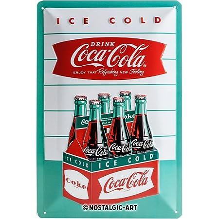 Nostalgic-Art Cartel de Chapa 20x30 cm Coca-Cola - Diner ...
