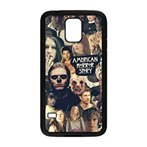 DIY Cover Case with Hard Shell Protection for SamSung Galaxy S5 I9600 case with American Horror Story lxa#914079