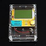 KOOKYE Mega328 Transistor Tester Diode Triode Capacitance ESR Meter MOS/PNP/NPN L/C/R with Clear case