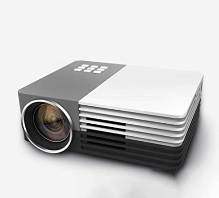 BAL Proyector LED portátil, Lente de Enfoque de 120 Pulgadas HD, Pantalla Grande Compatible con Tarjetas USB/TF/Tarjetas SD/portátiles, 1080p HD con Interfaz de TV: Amazon.es: Hogar