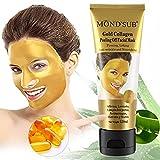 24K Gold Collagen Peel Off Facial Mask,120ml - Ancient Gold Mask Formula Reduces