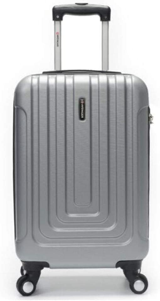 37 22 57 Aishanghuayi Suitcase for Casual Fashion ABS Universal Wheel Expandable Business Rotary Suitcase Black Size cm Color : Silver, Size : 15924 inch