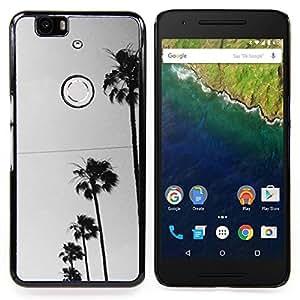 Stuss Case / Funda Carcasa protectora - Los árboles Fila Sky View Road la calle - Huawei Google Nexus 6P