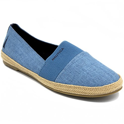 Blue On Espadrille Womens Shoe Slip Casual HIGHSMITH Dutch Nautica Flat PFWvzPq