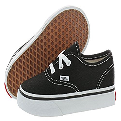 Vans Nero T black Unisex Authentic Sneaker Blk Bambino vPgw1qvO