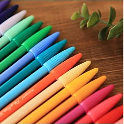 Monami Plus 3000 Office Sign Pen Water Based Ink 24 Color Pen Complete Set!
