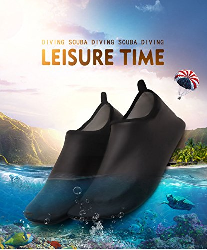 Gym Shoes Mens Swimming Beach Beach Shoes Sneaker Water Yoga Aqua Black Krastal 6XBFw