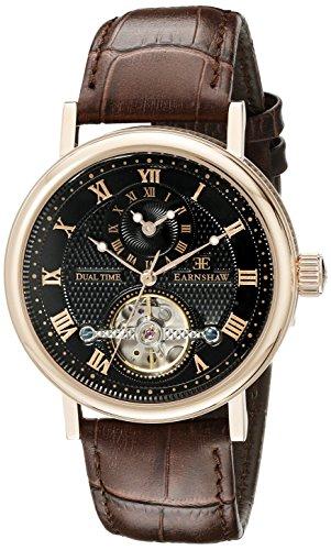 Thomas Earnshaw Men's ES-8047-04 Beaufort Analog Display Automatic self windc Brown Watch