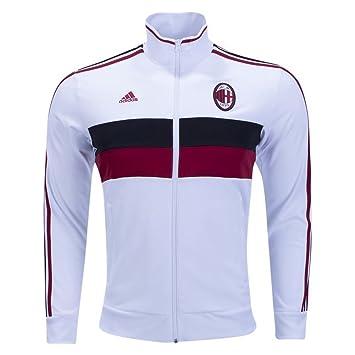 Chaqueta italiana Serie A AC Milan, 3 rayas, para hombre: Amazon.es: Deportes y aire libre