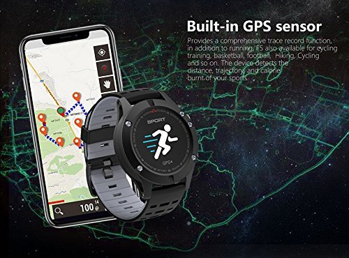 Amazon.com: NO.1 F5 Color Screen Smart Watch - IP67 ...