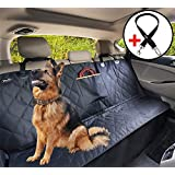 YoGi Prime Dog Car Seat Cover for Large Dogs Heavy Duty Dog Waterproof Backseat Covers, Pets Seat Protectors for Cars Trucks SUV XL Truck Bench Back Seats Covers for Dogs Universal fit (Not-Hammock)