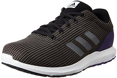 adidas Cosmic M, Zapatillas de Running para Hombre, Negro (Negbas / Hiemet / Puruni), 43 1/3 EU