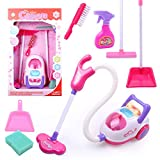 OUYAWEI Chirstmas Gift for Children Cleaning Tool Toy Vacuum Cleaner Cleaning Kit Play House Toys
