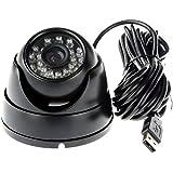 ELP Sony IMX322 Sensor Mini Usb Camera Module HD 1080P (3.6mm lens with dome housing)