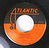 Alice Cooper 45 RPM Cold Ethyl / Only Women
