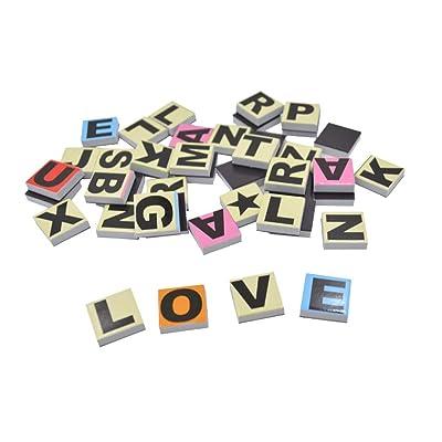 180 Letras de Goma magnéticas de EVA y PVC para Escribir y Aprender Palabras de bebé, educación temprana, Juguetes para niños Incluyen 7 Colores en la Parte Superior y una Caja.: Juguetes y juegos