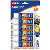 Avery Despicable Me Glue STICK, Washable, Nontoxic, Permanent 6pc Deal (Small Image)