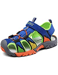 b9b163ffe7d Boys Girls Breathable Athletic Sandals