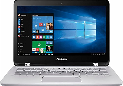 2017 ASUS 13.3-inch Full HD Touchscreen 2-in-1 Laptop PC, 7th Intel Core i5-7200U up to 3.1GHz, 6GB RAM, 1TB HDD, Wifi 802.11ac, USB 3.0, Bluetooth 4.0, Windows 10 home (Silver)