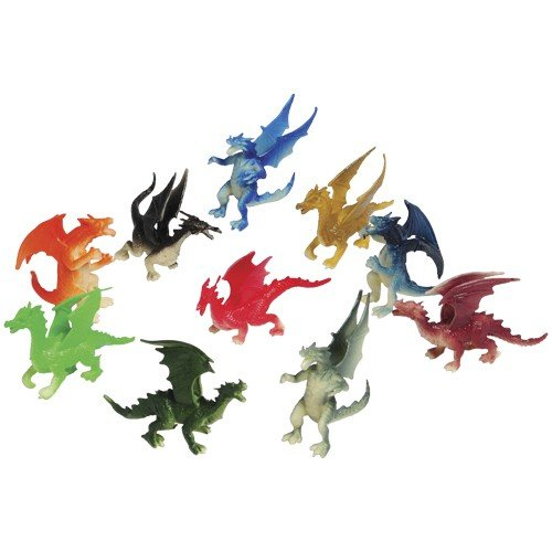 2 Dozen (24) Mini DRAGON Toy Figures - 2