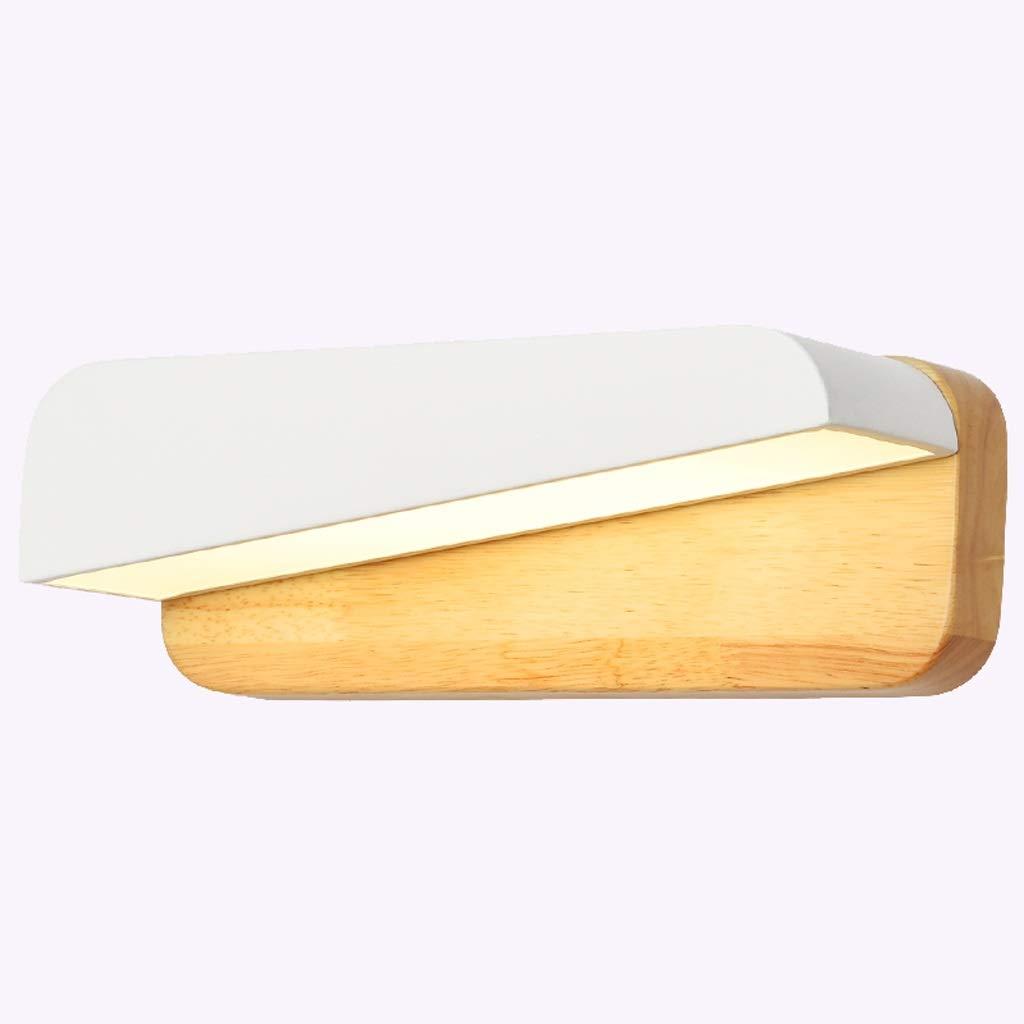 A Yanghengwei Log Schlafzimmer Nachttischlampe Wandlampe Moderne minimalistische kreative Spiegel Schrank Spiegel Wandlampe Lagerung Wandlampe A++ (Größe   A)