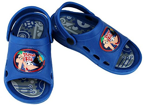 Disney Phineas e Ferb sandali (Si prega di comunicare la taglia per e-mail)