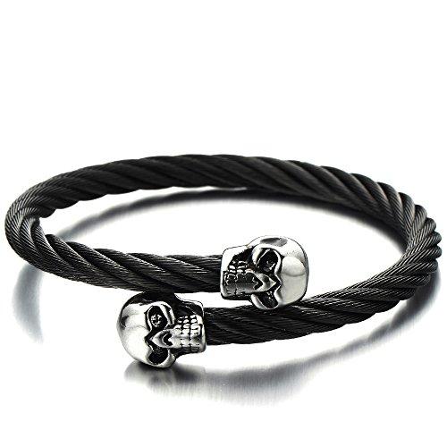 Elastic Adjustable Bangle Bracelet Twisted