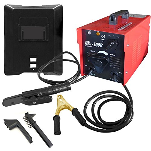 Domeiki 100 AMP Arc Welder Machine Rod Welding 110 V Automotive Shop Tool by Domeiki Home
