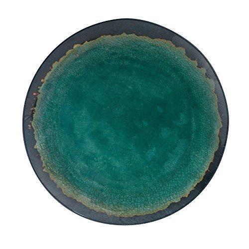 - Merritt Natural Elements 11-inch Melamine Dinner Plate, Turquoise