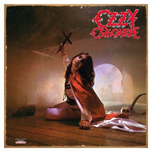 Vandor 87183 Ozzy Osbourne Blizzard of Ozz Album Cover Heavy Gauge Tin Sign, - Rock Cover Album