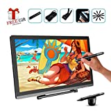 PNBOO PN2150 21.5 Inches LED Graphics Monitor IPS HD Resolution Drawing Monitor Pen Display Dual Monitor (21.5 Inches)