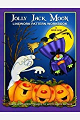Jolly Jack Moon: Linework Pattern Workbook Paperback
