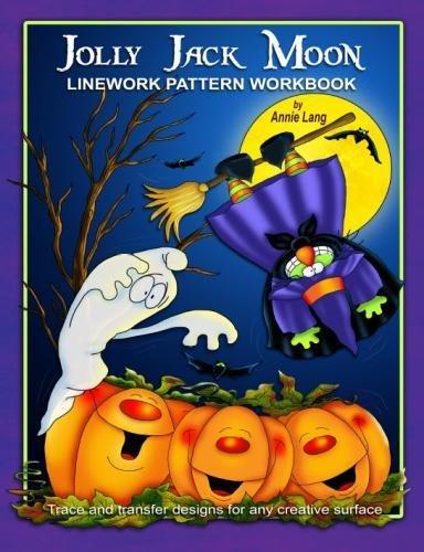 Jolly Jack Moon: Linework Pattern Workbook -