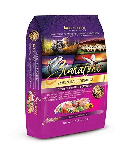 Zignature Zssential Formula Dog Food, 13.5 Lb. by Zignature