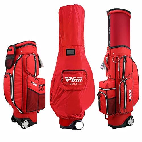 ゴルフバッグ-多機能ゴルフパック A B07Q8K5X24 red、伸縮ボールキャップ、独立したサーモスタットバッグ、ナイロン素材、男性と女性の適切なプロのボールバッグは、20クラブを収容することができます A red B07Q8K5X24, 東山梨郡:77e26eaf --- lagunaspadxb.com