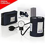 MDF® Calibra Aneroid Sphygmomanometer - Blood Pressure Monitor - Full Lifetime Warranty & Free-Parts-for-Life - Navy Blue