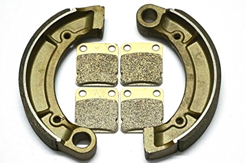 Master Chen Rear Brake Shoes Pads Front Brakes For Yamaha 350 Bruin 2x4 4x4 Auto MC0381-PAD