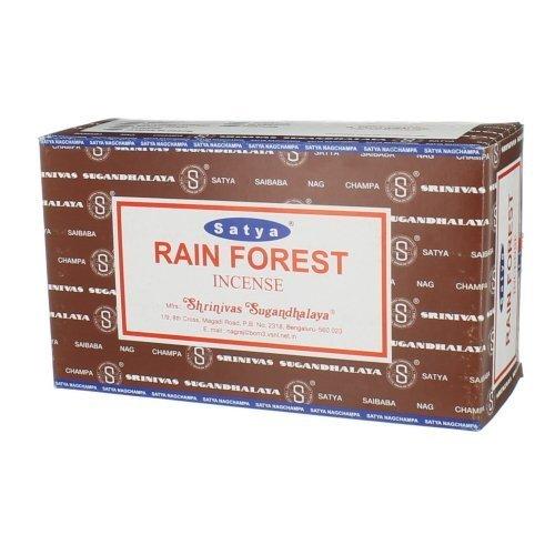Satya Nag Champa Rainforest Incense Sticks (Whole Case)