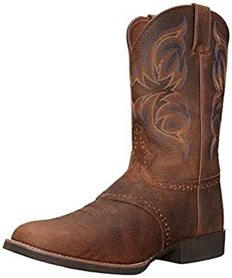 Amazon Com Justin Boots Men S Stampede 7200 Boot Western