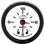 Auto Meter 7585 Phantom II 2'' Analog Illuminated Clock Gauge