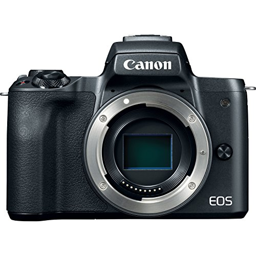 Canon EOS M50 Mirrorless Camera with 4K Video and EF-M 15-45mm Lens Kit (Black) Deluxe 32GB Triple Battery Bundle with Shotgun Mic, Backpack, Tripod and More by Canon (Image #7)